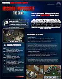 Mission: Impossible Fact Sheet